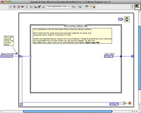 labview design pattern 5 4 labview设计模式 标准状态机 labview design patterns standard