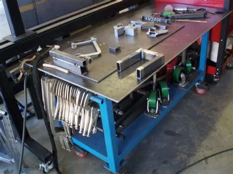 diy welding bench welding table diy pinterest