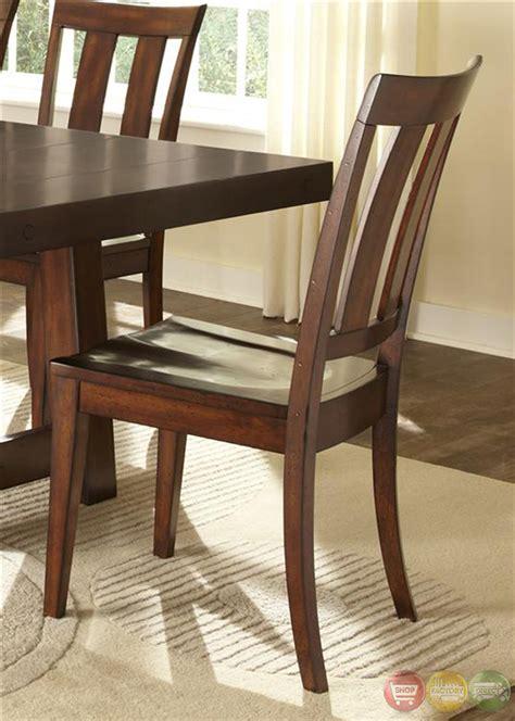 mahogany dining room set tahoe rustic style mahogany finish dining room set