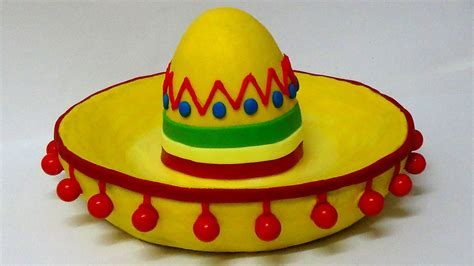 How To Make A Mexican Sombrero Out Of Paper - how to make sombrero hat cake