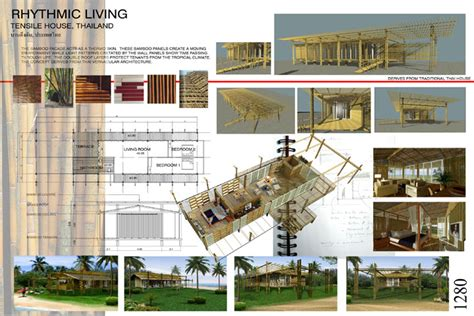 Home Design Furniture by Bamboo Living International Bamboo Building Design Exhibits