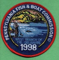 pa fish and boat commission conservation award ben s patch collection