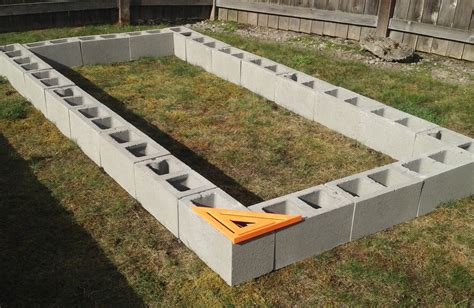 cinder block raised bed cinder block raised garden bed superb cinder block