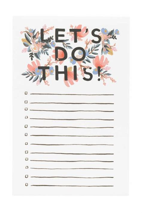girly printable to do list 23 school supplies so cute you ll actually look forward to