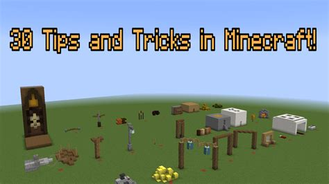 hamster s minecraft building tips 1 improving your house 30 more building tricks and tips in minecraft youtube