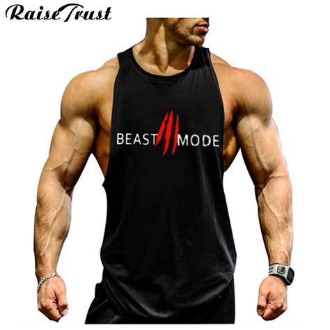 Fitness Shirts New 2017 Fashion Cotton Sleeveless Shirts Tank Top