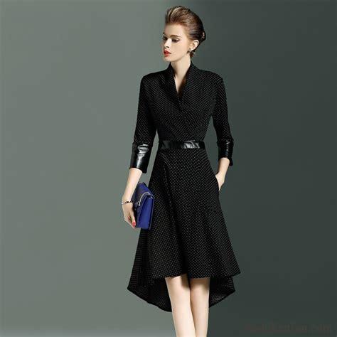 kleid schwarz blau kleid schwarz knielang kleider marineblau damen kleid