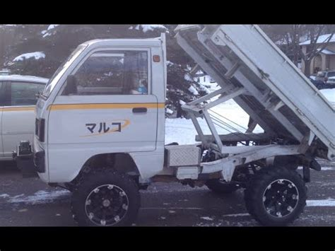 Suzuki Carry Lifted Suzuki Carry Japanese Mini Truck Lifted With Home Made