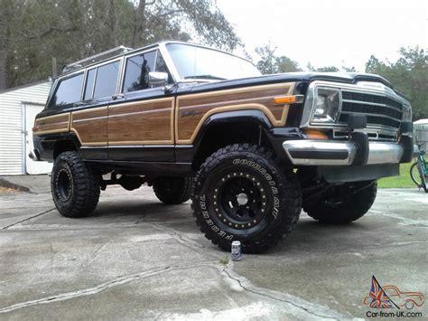 old truck jeep truck jeep wagoneer classic