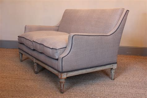 painted sofa late 19th century small french painted sofa furniture