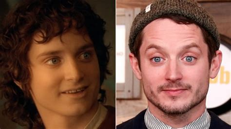 elijah wood looks like the lord of the rings cast doesn t look like this