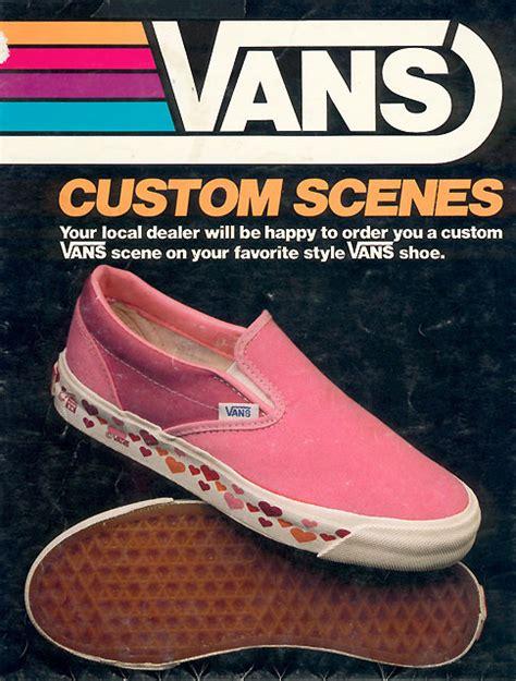 Sepatu Cewe Slip On Vans Checker Board vans on vintage ads and bmx