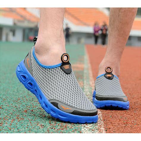 Sepatu Slip On Sport sepatu slip on sport pria size 43 blue jakartanotebook