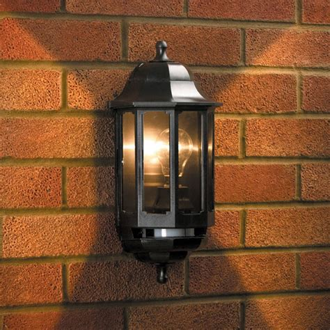 Design For Outdoor Carriage Lights Ideas Coach Half Lantern With Pir Lyco Direct
