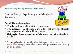 Image result for writing a strong thesis statement lesson plan