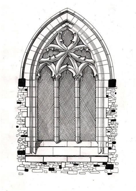 How To Draw A Vase Of Flowers Step By Step Best 10 Gothic Architecture Drawing Ideas On Pinterest