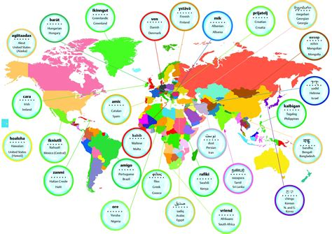 how to say friend around the world oxfordwords blog