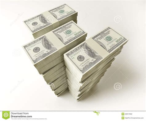 Stack Of $100 Bills Stock Photography - Image: 29917692 $100 Bill Stack