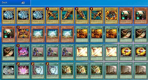 yu gi oh exodia deck yugioh deck recipes
