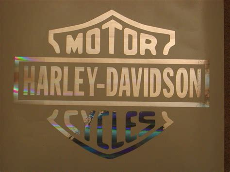 Window Decals Harley Davidson by Harley Davidson 8x10 Window Decal