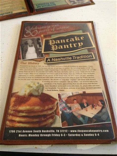 Pancake Pantry Menu by Mmm Grits With Cheese Picture Of Pancake Pantry