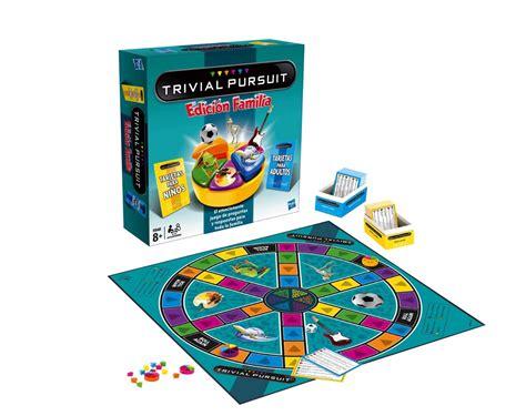 preguntas juego familia trivial pursuit familia juegos de mesa
