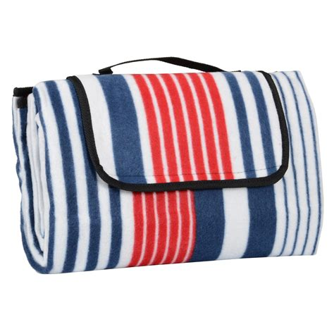 Outdoor Picnic Rug Folding Fleece Waterproof Picnic Blanket Outdoor Mat Rug Carry Bag 130cm X 150cm Ebay
