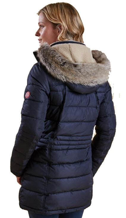 Womens Navy Quilted Jacket With by Barbour Landry Quilted Coat Jacket Navy Lwb0660ny71