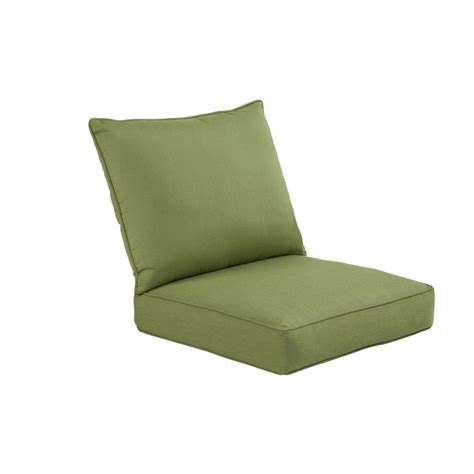 Patio Furniture Cushions Sunbrella Allen Roth Sunbrella 174 Outdoor Chair Cushion Lowe S Canada