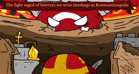 Byzantine Ottoman Wars Byzantine Ottoman Wars Polandball Wiki Fandom Powered By Wikia