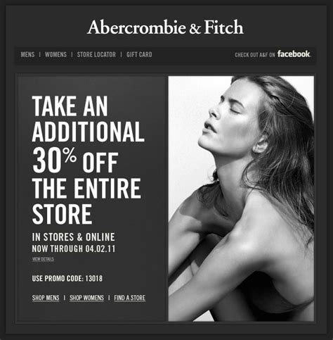 printable job application for abercrombie and fitch take an additional 30 off the entire store at abercrombie