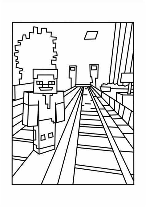 mine craft coloring pages printable minecraft coloring pages coloring home