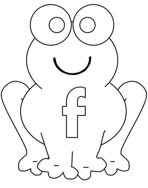 F Frog Coloring Page by 36 Best Images About Letters On Initials Drop