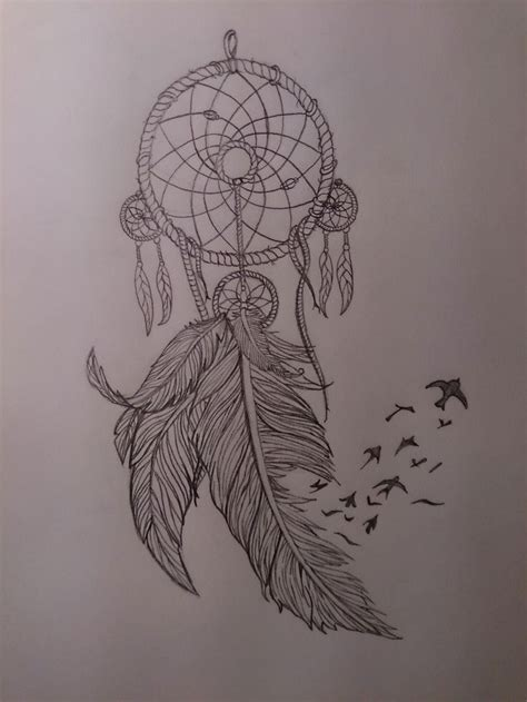 dreamcatcher tattoo designs with birds 17 best tattoos dreamcatchers images on pinterest