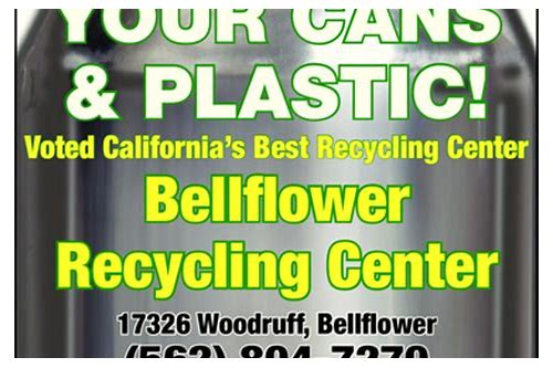 bellflower recycling coupon