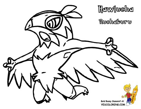 pokemon coloring pages hawlucha excellent pokemon x coloring slurpuff diancie free