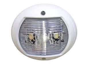 led stern lights for boats marine white round stern light for boats led