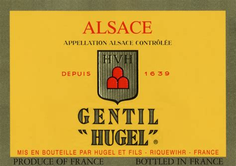 Gentil It by Alsace Gentil Quot Hugel Quot 183 Faith Middleton S Food Schmooze