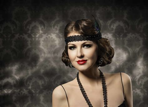 gatsby short hairstyle great gatsby hair ideas for halloween and beyond