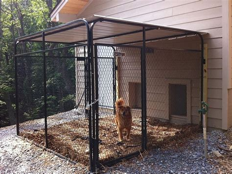 dog house with fence 25 best ideas about dog runs on pinterest outdoor dog runs dog run yard and dog area