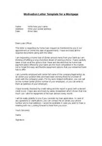 Loan Motivation Letter Motivation Letter Template For A Mortgage Hashdoc