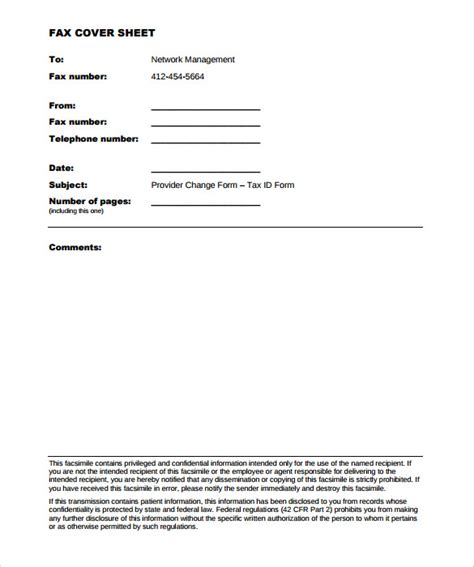 10 Generic Fax Cover Sheet Templates Free Sle Exle Format Download Free Premium Generic Fax Template
