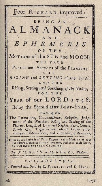 poor richard s almanac for 1850 as written by benjamin franklin for the years 1733 1734 1735 classic reprint books benjamin franklin was a great astrologer