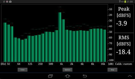 room analyzer app rta audio analyzer android apps on play
