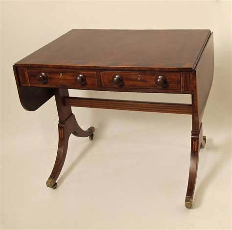 Sofa C Table by 19th C Regency Sofa Table For Sale At 1stdibs