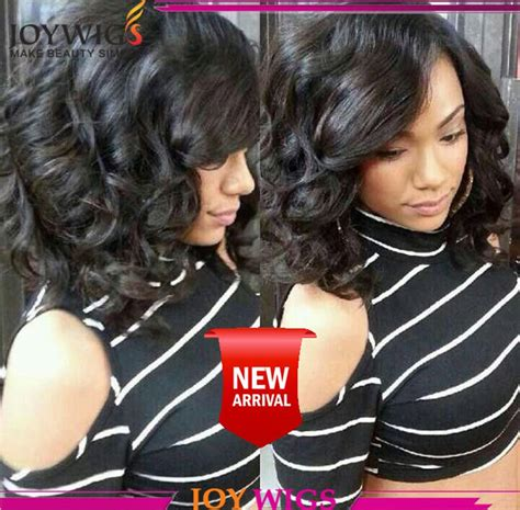 side part hairstyles for black women short human hair bob wigs for black women side part lace