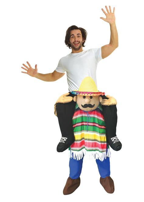 cinco de mayo piggyback costume funny costumes
