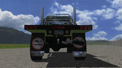 cummins pickup bed log truck for fs15 farming simulator fs 2013 2008 dodge cummins v 1 0 cars mod f 252 r farming