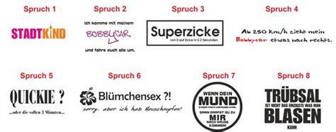 Motorrad Sticker Spr Che by E26 Spr 252 Che Sticker Aufkleber Auto Spruch Heckscheibe Ebay