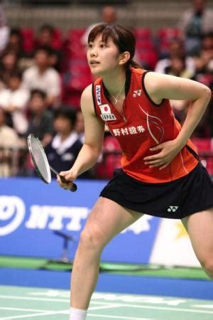 japan beautiful female badminton player reiko shiota